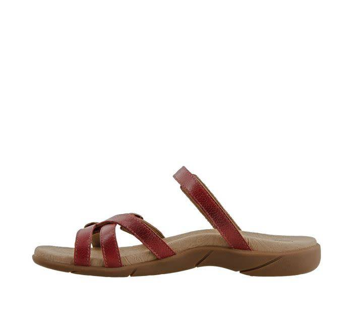 Taos Footwear Taos Captive Sandal Red