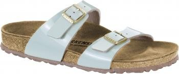 Birkenstock Birkenstock Women's 1008545 Sydney Two-Tone-Water-Cream