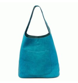 Joy Susan Molly Slouchy Hobo Handbag Dark Turquoise
