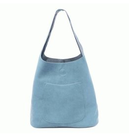 Joy Susan Molly Slouchy Hobo Handbag Chambray