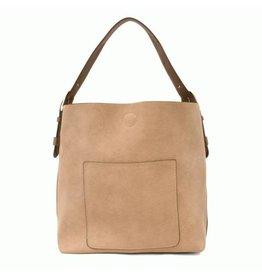 Joy Susan Molly Classic Hobo Handbag Beige
