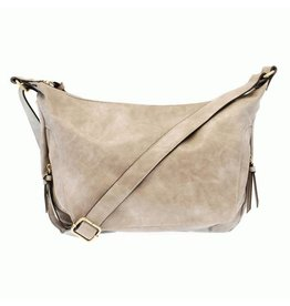 Joy Susan Debbie Hobo Handbag Dove Grey