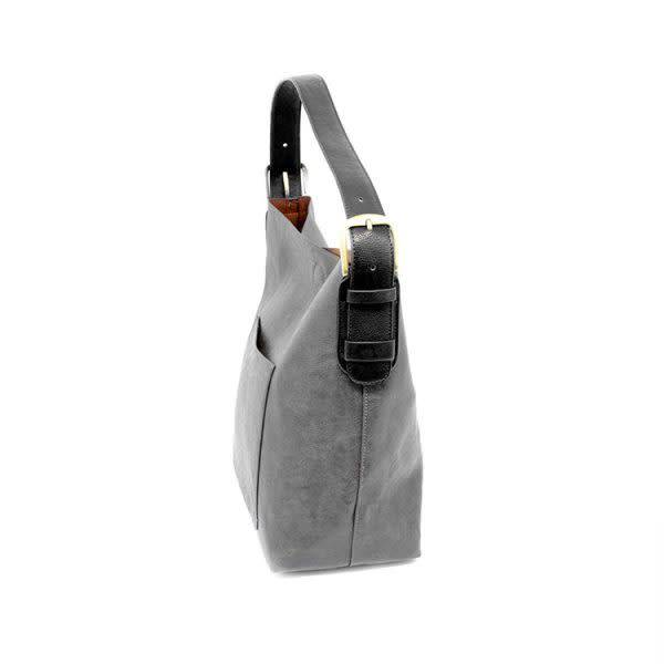 Joy Susan Joy Susan Molly Classic Hobo Handbag Grey