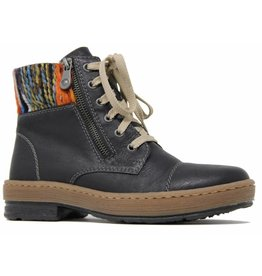 Rieker Eagle Boot Black