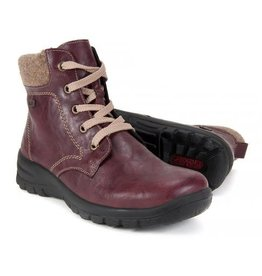 Rieker Z7112-35  Ankle Boot Red Combo