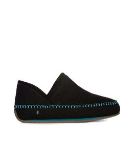 EMU Women's Lochlan Slippers Black/Teal