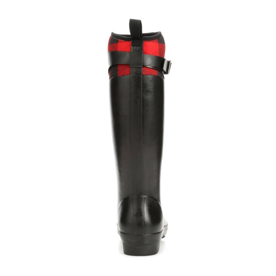 Muck Muck Women's Tremont Tall Strap Boot Black/Red