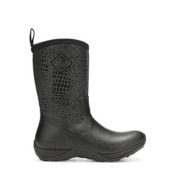 Muck Women's Arctic Weekend Boot Black/Croc Print