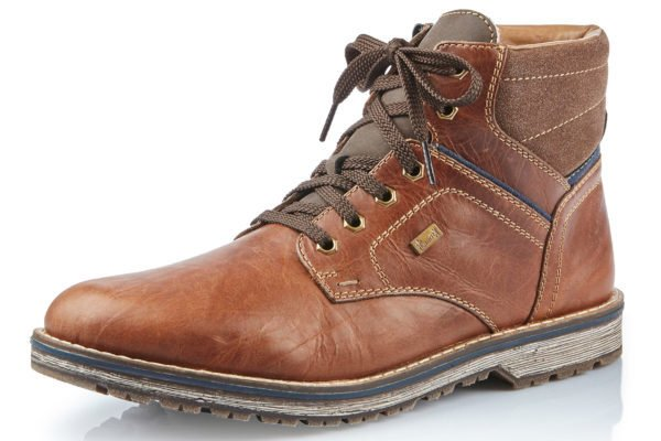 Rieker Rieker 39223-36 Mens Ankle Boot Brown