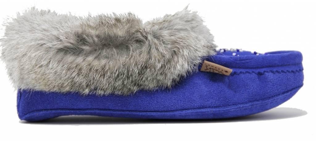 Laurentian Chief Mocassins Royal Blue
