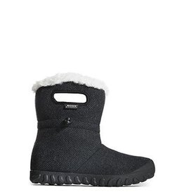 Bogs Womens 72105 B-Moc Wool Boot Black