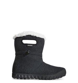 Bogs Womens 72105 B-Moc Wool Boot Black