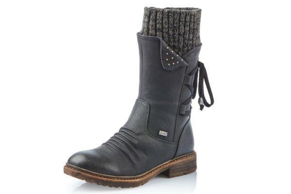 Rieker Rieker 94773-00 Dominka Boot Black