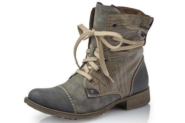 Rieker Rieker 70822-45 Payton Ankle Boot Grey