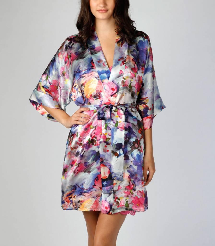 Christine Christine Vancouver Blossom Short Robe