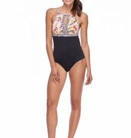 SKYE SKYE Olivia High Neck One-Piece