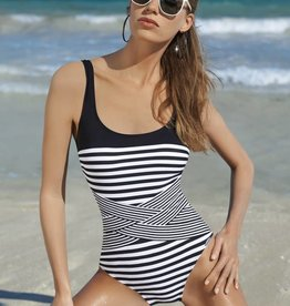 Sunflair Sunflair Striped Swimsuit
