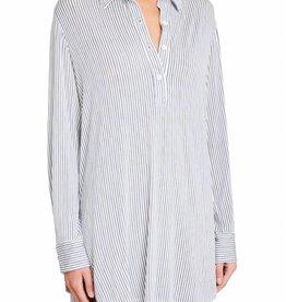 Eberjey Eberjey Nordic Stripes BF Sleepshirt