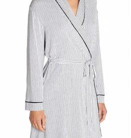 Eberjey Eberjey Nordic Stripes Tuxedo Robe de chambre