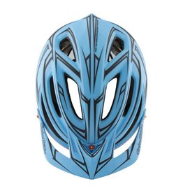 Troy Lee Designs Troy Lee A2 Helmet MD/LG (Blue / Red) MIPS TLD Pinstripe