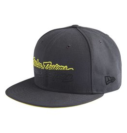 Troy Lee Designs Troy Lee Designs All Time Hat (Charcoal) One Size Fits Most