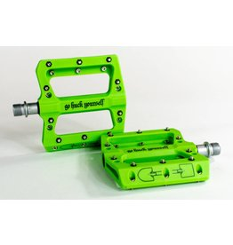 Go Huck Yourself Go Huck Yourself Nylon Pedal (Green)