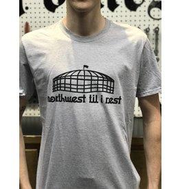 Go Huck Yourself Northwest Til I Rest King Dome T-Shirt