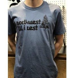 Go Huck Yourself Northwest Til I Rest Tree T-Shirt