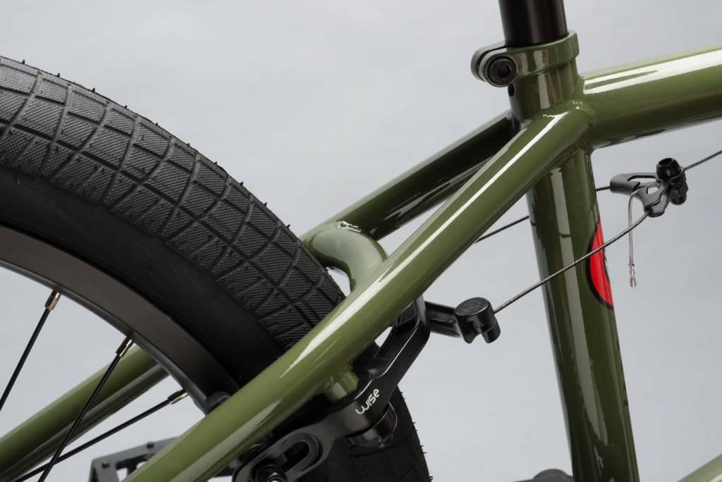 DK Cygnus (Green) Complete BMX Bike