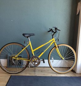 schwinn frontier yellow 18 in