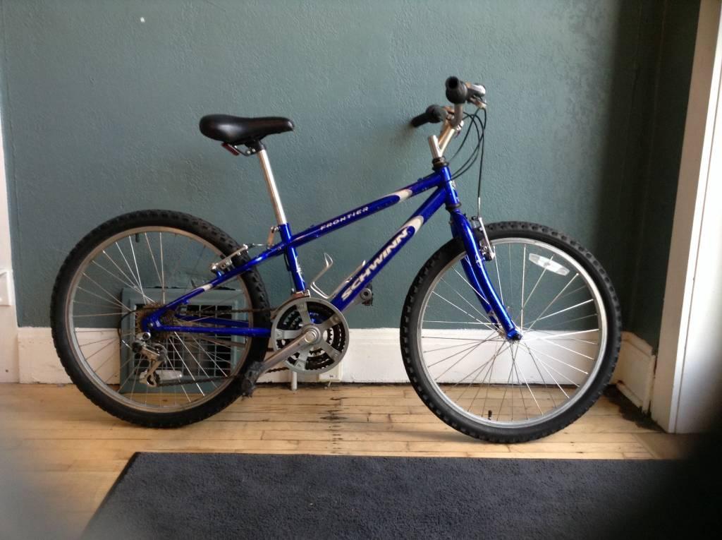 Schwin Frontier Blue 12 Inch