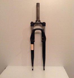 """RST RST Neon T10 700c Fork Black. 157mm steer tube. 1 1/8"""" threaded."""