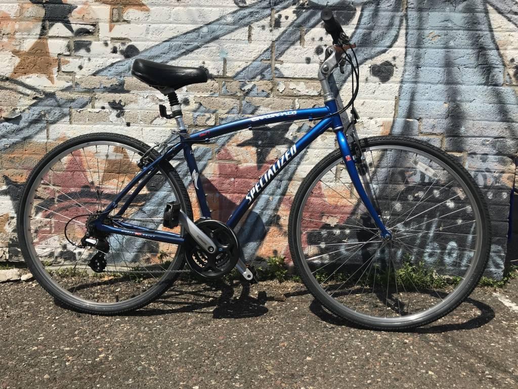 Specialized Crossroad - Blue - Hybrid - 18 in