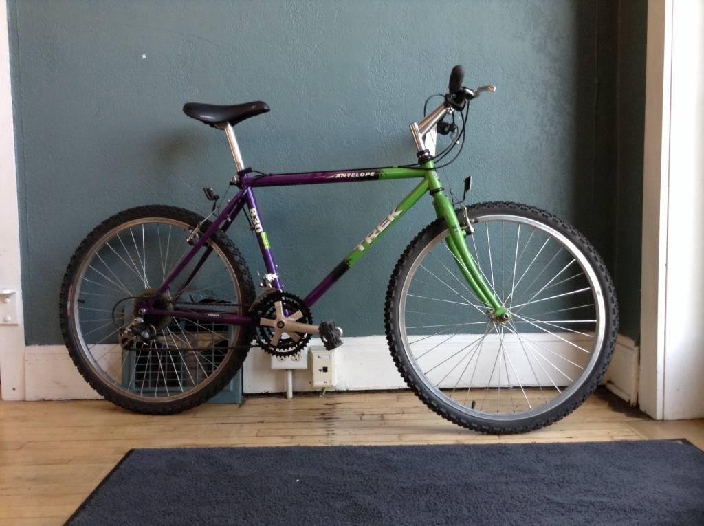 Trek 830 Antelope Purple / Green 18 in mtb
