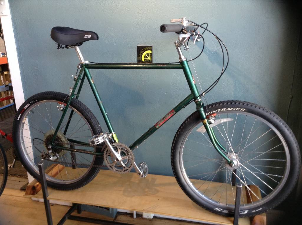 Raleigh Elkhorn Mountain Tour MTB Green - 23 in
