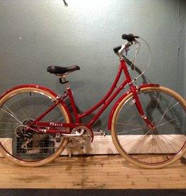 Vintage Public C7 Classic Dutch Bike 22in Red