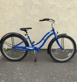 Sun Sun Bikes Revolution AL Cruiser 16 in Sparkle Blue