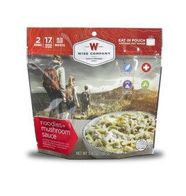 Wise Noodles and mushroom sauce