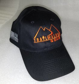 TrailWalker Gear TWG Cap, Classic Black