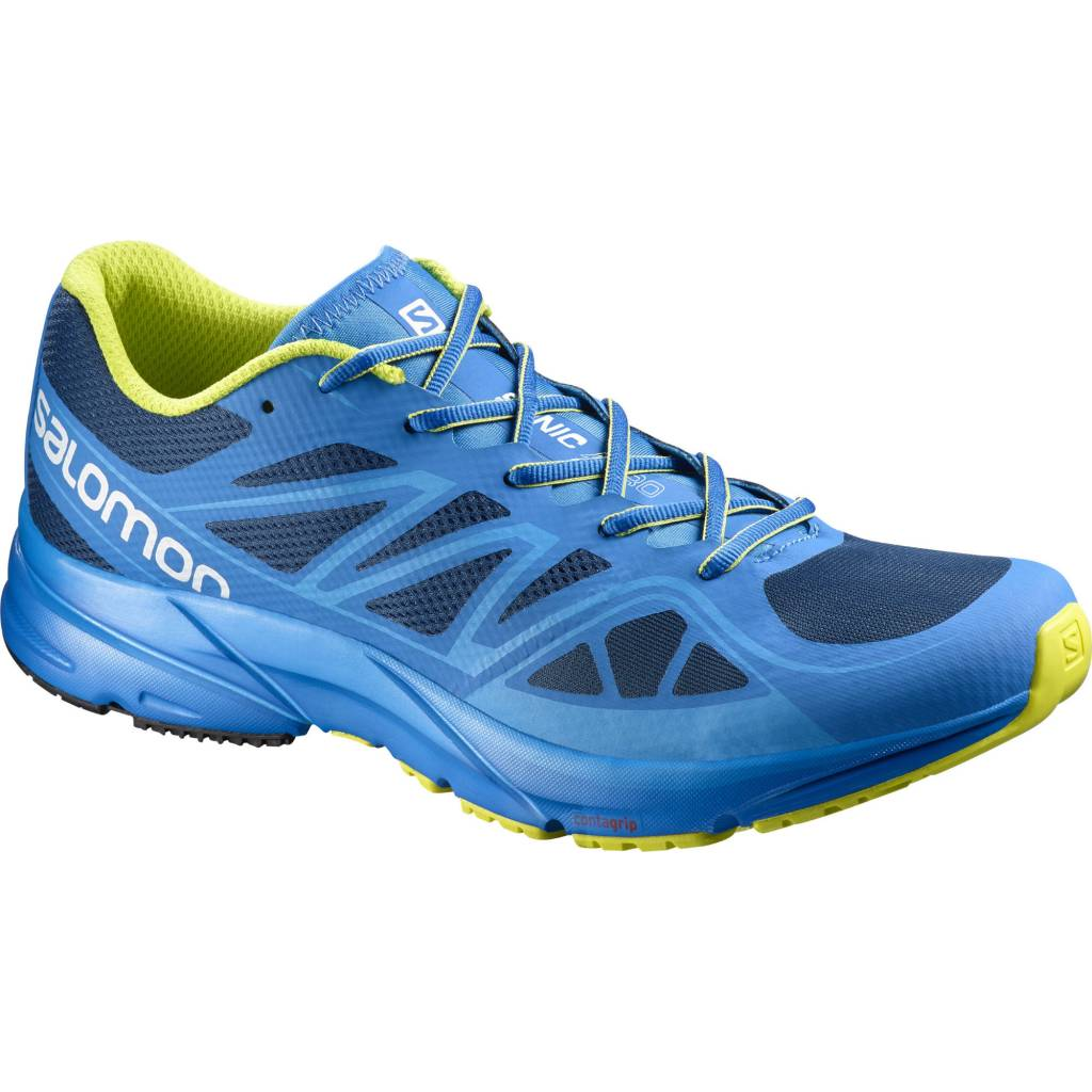 Salomon Sonic Aero (Midnight Blue/Gecko Green) ...