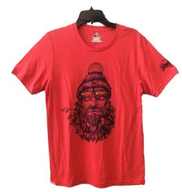 meridian line Captain Bird Beard Men's T-Shirt