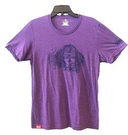 meridian line Bird Babe Men's T-shirt