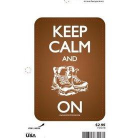 Sportstickers Keep Calm - Boot