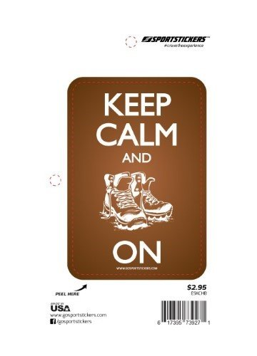 Sportstickers Keep Calm - Boot