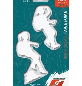 Sportstickers Trekker/Hiker – Kids- White