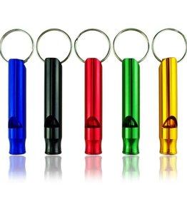 TrailWalker Gear Aluminum Survival Whistle, various colors