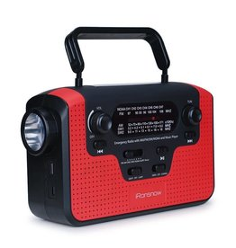 TrailWalker Gear Emergency Radio, Dynamo & Solar Powered