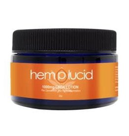 Hemplucid 1000mg CBDA Lotion, 2oz