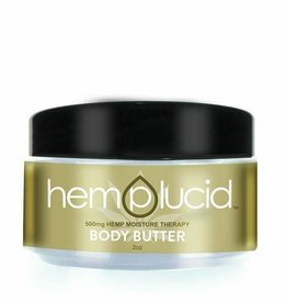 Hemplucid Hemplucid Body Butter, 2oz 500mg