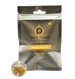 Hemplucid Hemplucid CBD Dab Wax 20%